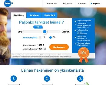 Laina.fi - Lainaa 600 - 2500 € | VertaaLainaa.fi
