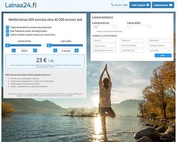 Lainaa24.fi - Lainaa 500 - 40.000 € | VertaaLainaa.fi