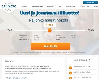 Lainasto.fi - Lainaa 2000 € | VertaaLainaa.fi