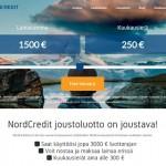 NordCredit - LAinaa heti 3000 euroa.