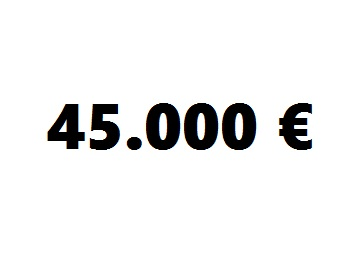 lainaa 45.000 euroa