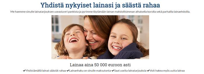 Yhdistälainoja.fi auttaa löytämään oikeanlaisen rahoitusratkaisun!