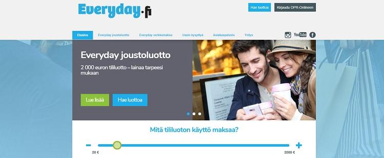 Hae lainaa Everyday.fi palvelusta!