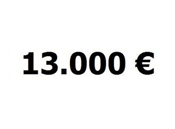 lainaa 13.000 euroa