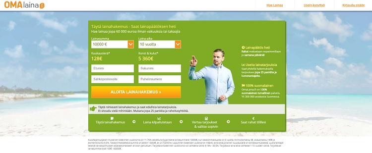 Hae lainaa Omalaina.fi palvelusta!