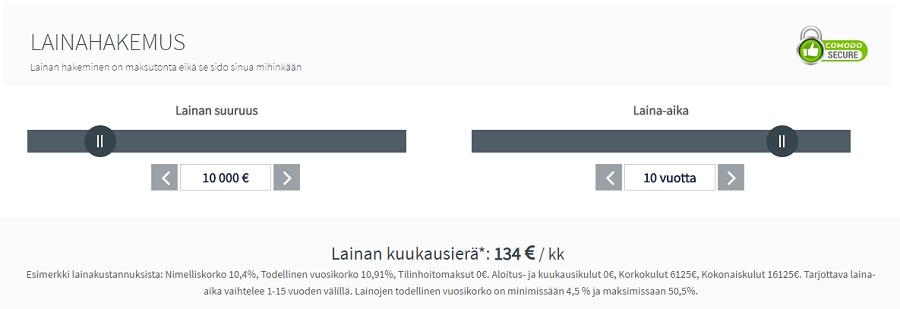 VertaaPankkeja.fi - maksuton lainavertailupalvelu!