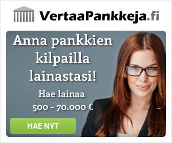 VertaaPankkeja.fi yhdistää lainat puolestasi!