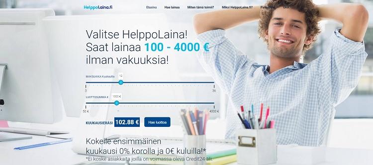 Hae lainaa HelppoLaina.fi palvelusta!