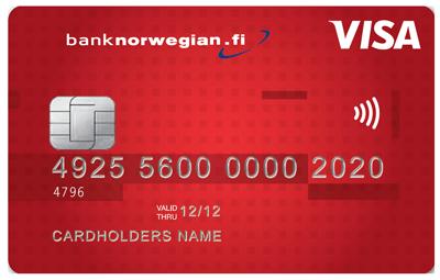 Bank Norwegian - joustoluotto