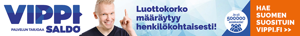 Vippi.fi lainatarjouksen pyytäminen on maksutonta!