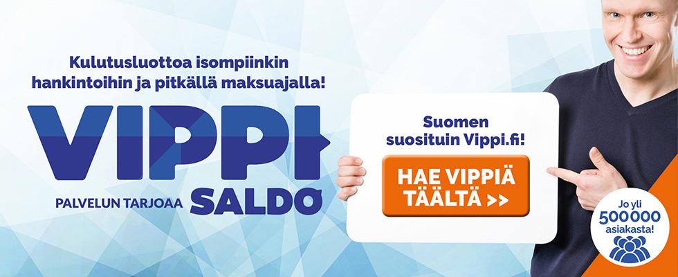 Tutustu uudistuneeseen Vippi.fi kulutusluottoon!