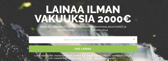 Viikinkilaina.fi - Lainaa nopeasti.