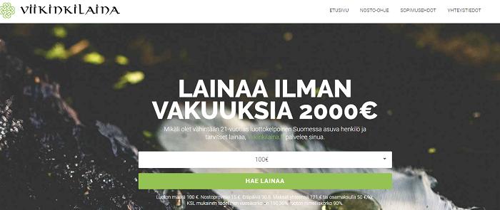 Viikinkilaina.fi - Lainaa nopeasti!