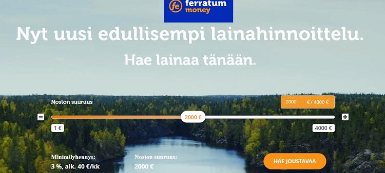 Ferratum - Hae lainaa tästä