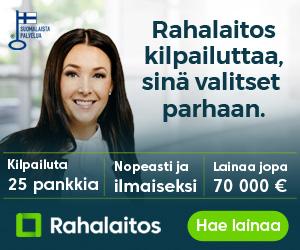 Hae lainaa Rahalaitos.fi palvelusta!