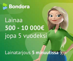 Hae lainaa Bondora.fi palvelusta!