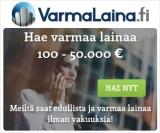 VarmaLaina.fi vuoden suosituin palvelu
