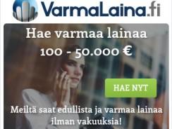 VarmaLaina.fi vuoden suosituin palvelu!