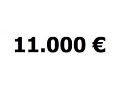Lainavertailu 11.000 euroa