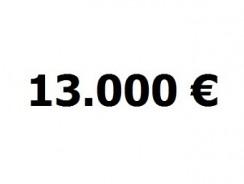Lainavertailu 13.000 euroa
