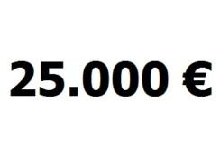 Lainavertailu 25.000 euroa