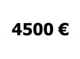 Lainaa 4500 euroa