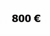 Lainaa 800 euroa